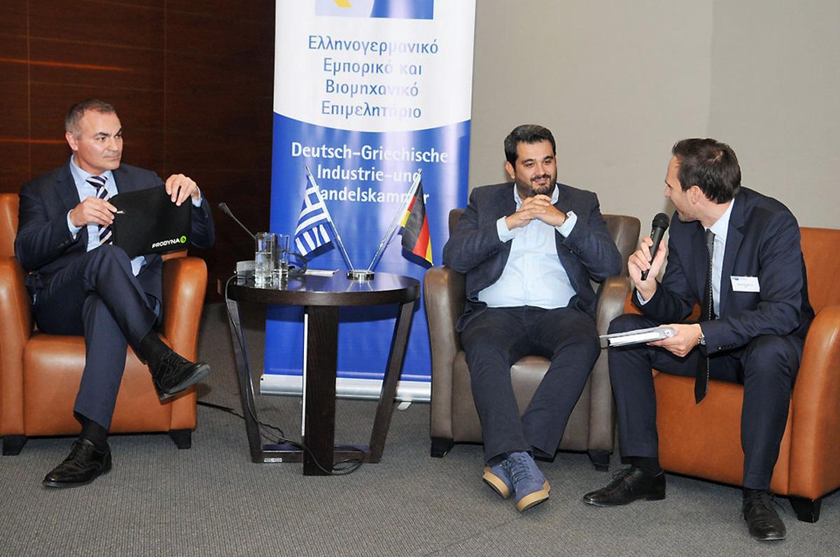 Economy. KonferenzderDeutsch GriechischenIndustrie undHandelskammer
